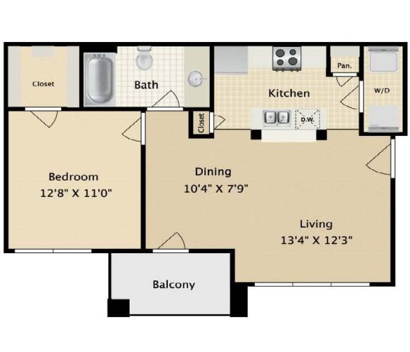 Floor Plan  Layout of Alamo Floor Plan