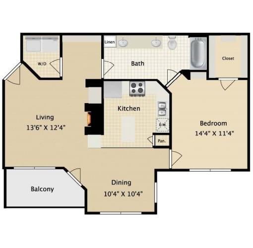 Floor Plan  El Dorado