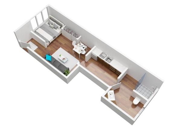 Floor Plan  Legacy studio floorplan