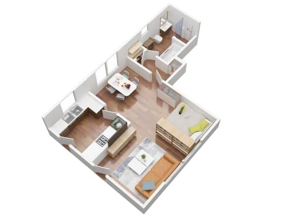 Floor Plan  studio bedroom floor plan