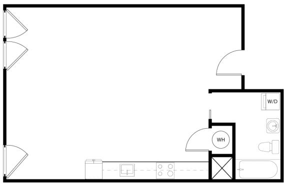Floor Plan  Loft 1