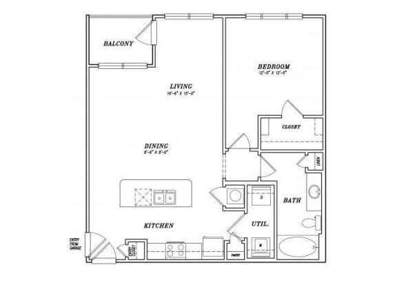 Floor Plan  A4-A4G