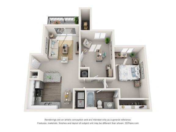 Floor Plan  NAPLES 1 floorplan