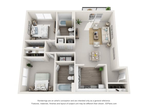 Floor Plan  VENICE floorplan