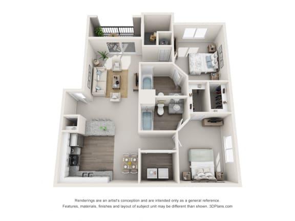 Floor Plan  MILAN 1 floorplan