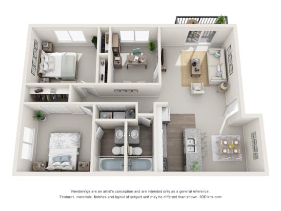 Floor Plan  MESSINA floorplan