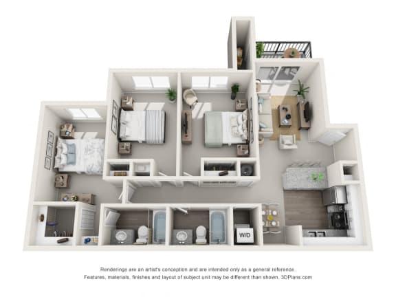 Floor Plan  TUSCANY 1 floorplan