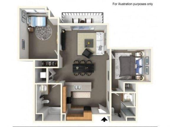 Floor Plan  2x1.75