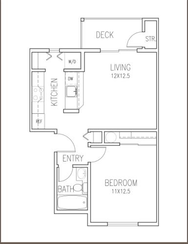 Floor Plan  Trolley
