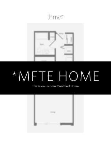 Floor Plan  Studio - MFTE