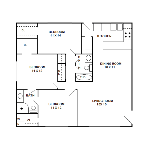 Floor Plan  Buckingham