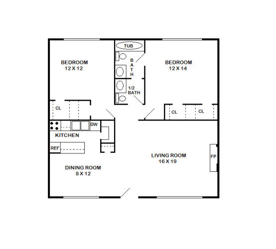 Floor Plan  Canterbury