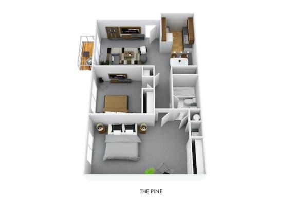Floor Plan  The Pine