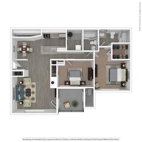 Floor Plan  The Barton
