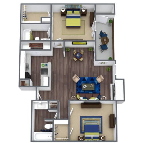 Floor Plan  Rio Grand Floor Plan 2x2
