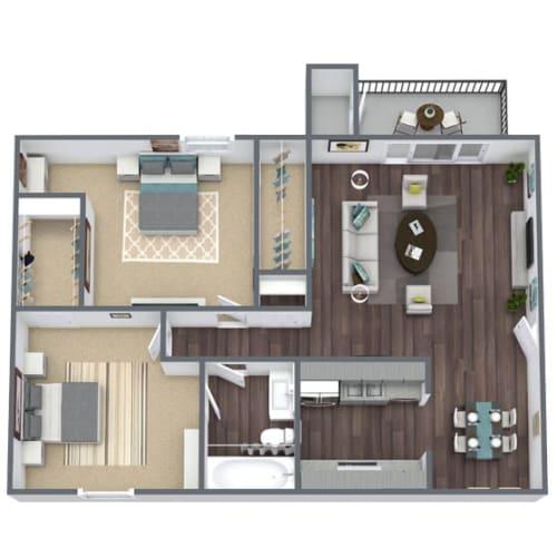 Floor Plan  B1 Floor Plan 2x1