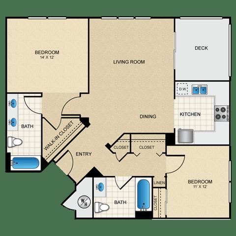 Floor Plan  2/2 A floorplan