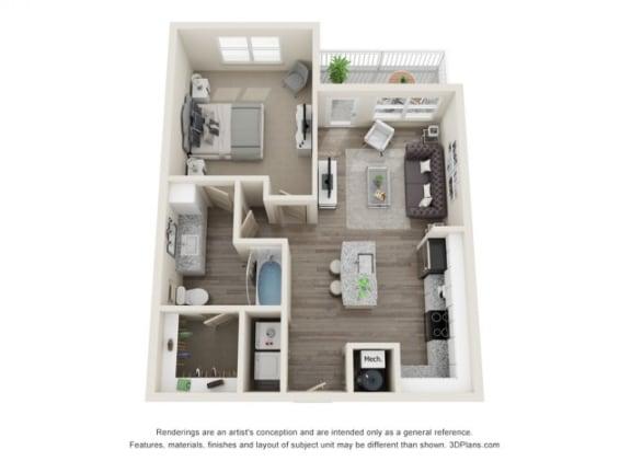 Floor Plan  The Mezz at Fiddler's Green Allegro Floor Plan