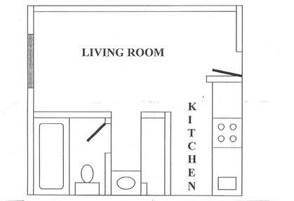 Floor Plan  Veranda at the Park Apartments Studio Floor Plan