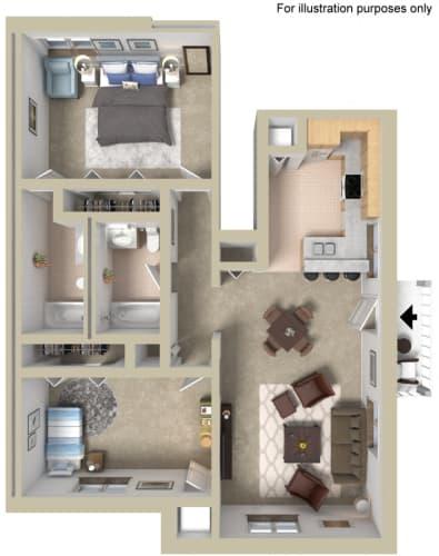 Floor Plan  Lower Flat
