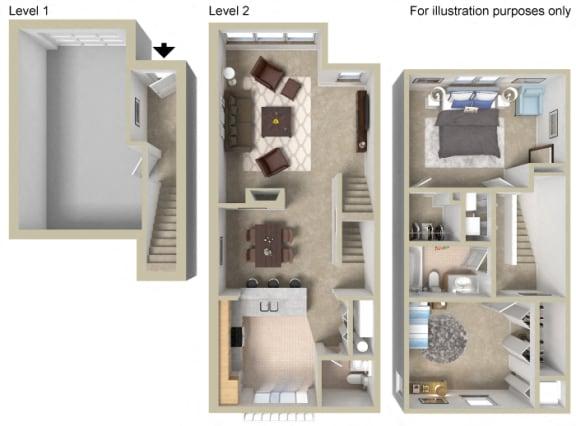 Floor Plan  Townhouse A