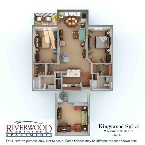 Floor Plan  Kingswood Spiral