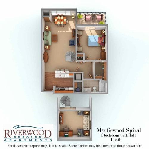 Floor Plan  Mysticwood Spiral