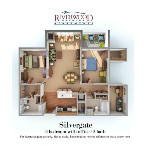 Floor Plan  Silvergate