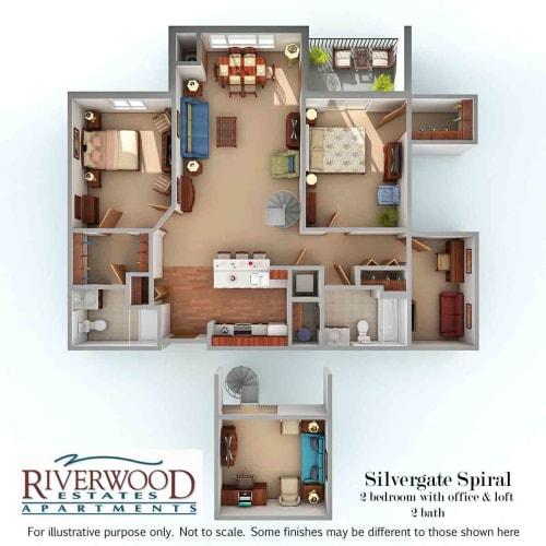 Floor Plan  Silvergate Spiral