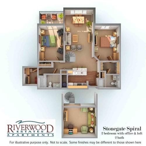 Floor Plan  Stonegate Spiral