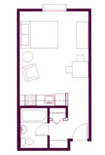 Floor Plan  The Picasso