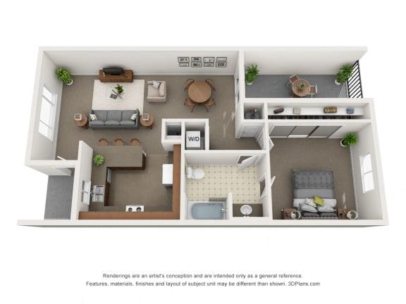 Floor Plans Of College Park Apartment Homes In Lemoore Ca