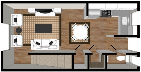 Floor Plan  2 Bedroom Floor Plan 2000 Walnut
