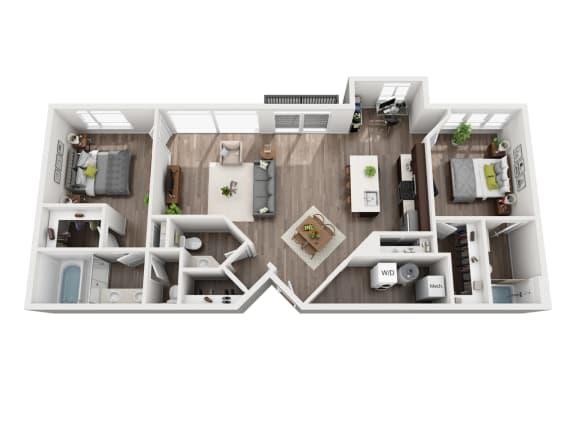 Floor Plan  The Uptown
