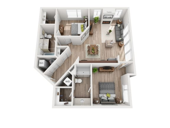 Floor Plan  The Woodward