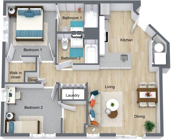 Floor Plan  one-newport-apartments