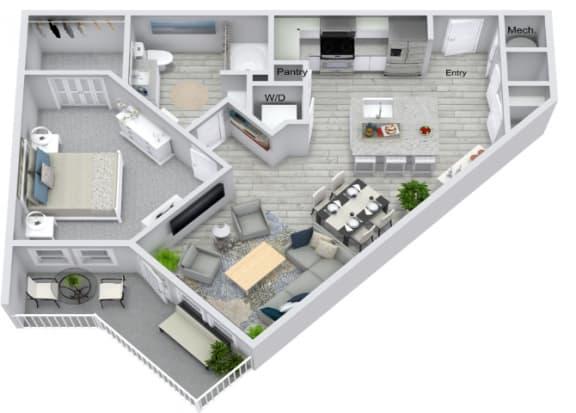 Floor Plan  A2 Floor Plan at Estero Parc, Estero