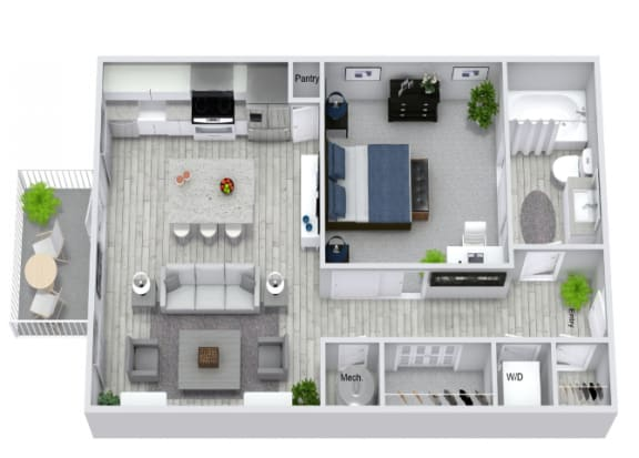 Floor Plan  S1 Floor Plan at Estero Parc, Estero, 33928