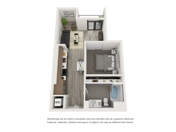 Floor Plan  4th and J A3 A4 A8
