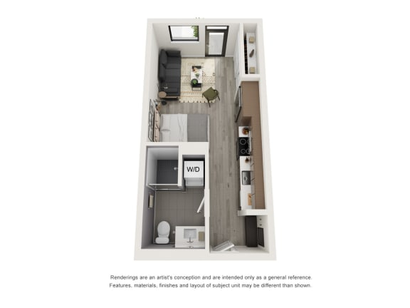 Floor Plan  4th and J S2