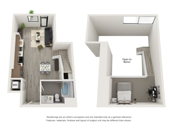 Floor Plan  4th and J S7 Combined