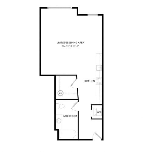 Floor Plan  Aventine Apartments Genova Floor Plan