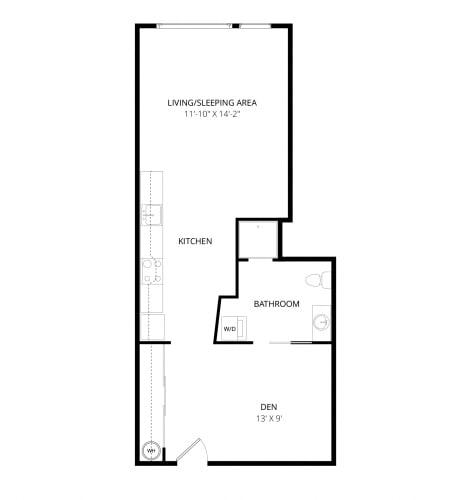 Floor Plan  Aventine Apartments Milano Floor Plan