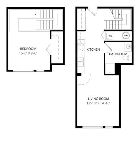 Floor Plan  Aventine Apartments Tuscany Floor Plan