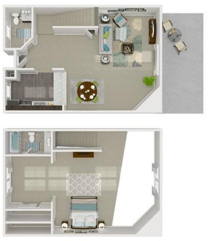 Floor Plan  1x1.5