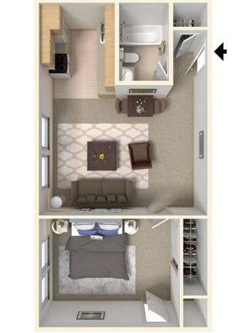 Floor Plan  Leverett Floor Plan| Cliffside