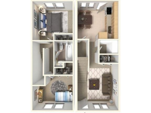 Floor Plan  Montague Floor Plan| Cliffside