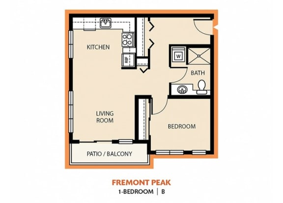Floor Plan  Fremont Peak