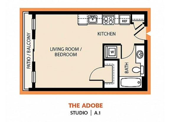 Floor Plan  The Adobe