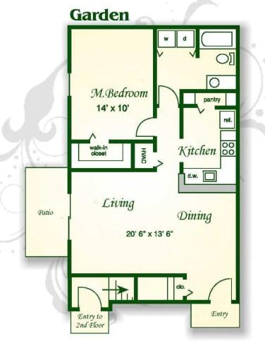 Floor Plan  The Azalea Garden